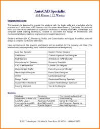 10 Autocad Resume Resume Cover Note