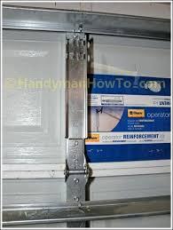 garage door reinforcement bracket 18 installation inch