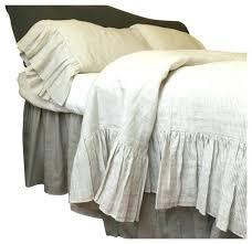 striped duvet cover king linen ticking striped bedding with mermaid long ruffles twin duvet cover only striped duvet cover