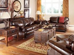 Leather Living Room Set Living Room With Leather Sofa Leather Furniture In Living Room