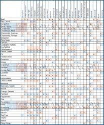 Soap Oil Properties Chart An Extremely Useful Essential Oil Chart Listing Out