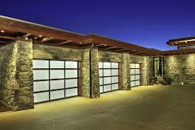 disadvantages of glass garage doors