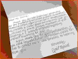 thank you note after interview sample sample thank you notes after interview