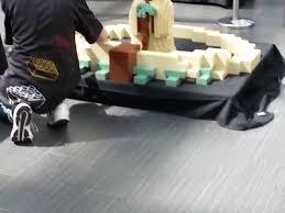 photos yoda build at canoga park lego opening 0