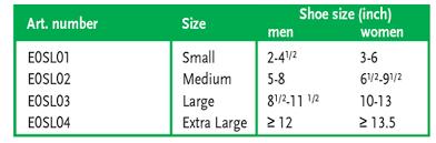 Sim Size Chart Arion Sim Slide