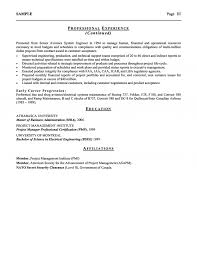 Aerospace Airline Executive Resume