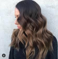 Dark Brown Hair Light Brown Balayage Dark Brown Hair With Light Brown Balayage Balayage Hair