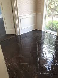 mexican saltillo paver tiles acid washed stained with spanish oak spanish terracotta floor tiles