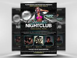 nightclub flyers free premier nightclub psd flyer template http www vectorarea
