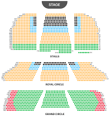 Alexandra Palace Seating Chart London Palladium Seating Plan Watch Goldilocks And The