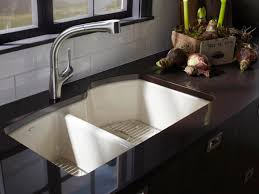 attractive undermount porcelain kitchen sink kitchen sink styles and trends