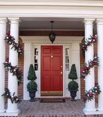 Christmas Outdoor Decoration Ideas For Pillars
