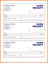 sample of cash bill moving receipt template seraffino com