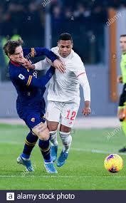 Rome, Italy. 12th Jan, 2020. Nicolo' Zaniolo of AS Roma ...
