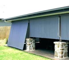 roll up patio shades exterior outdoor