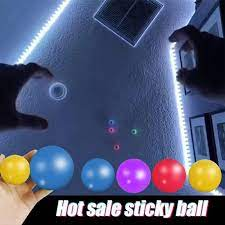 🔥SALE!!🍀 High Quality Popular Globbles Sticky Balls Kids Toys Stick Wall  Ball Stress Relief Toys Squash Ball Decompression Toy Sticky Target Ball  Catch Throw Ball Fidget Toy, Hobbies & Toys, Toys &