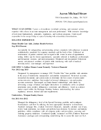 Aaron Michael Straw Resume