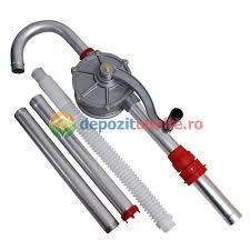 Pompa Manuala Rotativa Pentru Transfer Lichide Ulei Combustibil Hand Pump 32