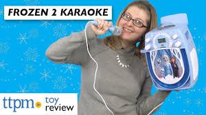 Frozen Light Up Boombox Disney Frozen 2 Sing Along Boombox From Ekids