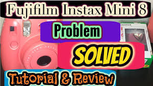 Instax Mini 9 Red Light Fujifilm Instax Mini 8 Troubleshoot All Lights Blinking Solved Review