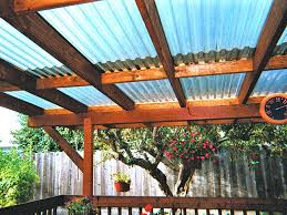 residential pergola clear corrugated roofing sheets ireland