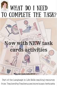 best images about autism life skills visual life skills what do i need for the task for autism special education
