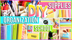 diy school supplies organization ideas for your room easy diy projects you need to try 2017 2018 you