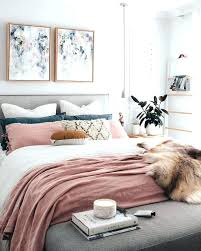 pink white and gold bedroom ideas – thebux.me