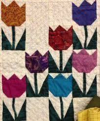 135 best Tulip quilts images on Pinterest | Quilt block patterns ... & tulip quilt square - Google Search Adamdwight.com