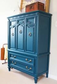 painted furniture blogsPainting Old Furniture  Modernize with Bold Color  My