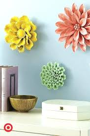 >ceramic flower wall decor ceramic wall flower decor ceramic flower  ceramic flower wall decor wall arts ceramic wall art decor ceramic wall decor brilliant yellow flower