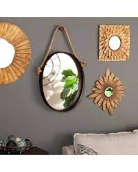 Handmade decorative wall mirrors with elegant, crackled glass mosaic frame. Find The Best Deals On Bem Decorative Wall Mirror Trent Austin Design