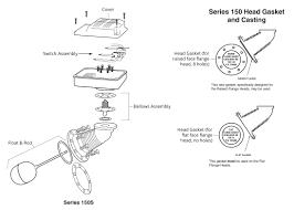 mcdonnell miller 173003 model 150s hd head mechanism mcdonnell miller model 150s lwco exploded view parts diagram