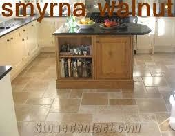 walnut travertine versailles pattern tile smyrna