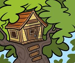 how to draw a treehouse step by step. Modren Draw How To Draw A Treehouse Intended To A Step By E