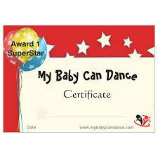 Dance Award Certificate Award Certificates 1 10