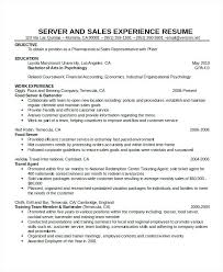 Waitress Resume Examples Custom Serving Resume Example Waitress Resume Template Free Word Document
