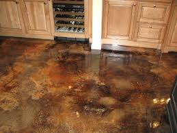 17 diy acid stained concrete floors