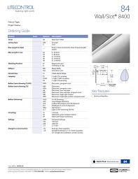 Columbia Lighting W4 8400 Spec Sheet