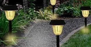 20 lovely solar led garden lights