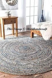 large jute rug perth premium area 3 feet round braided large jute rug