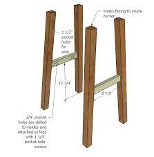build wooden bar stool plans plans bathroom