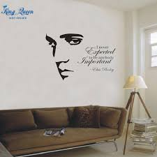 aliexpress online wall art vinyl decals shopping elvis presley silhouette decoration removable stickers quotation awesome wall on wall art vinyl decals with awesome wall art vinyl graphics wall decals ideas vinyl wall decals