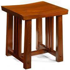 contemporary asian furniture. Dressing Stool In Solid Elm Wood, Asian Contemporary Furniture #ElmStool #ChineseFurniture