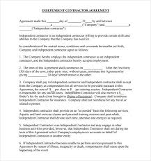 independent contract template 1099 contractor agreement template 25 images of independent contract