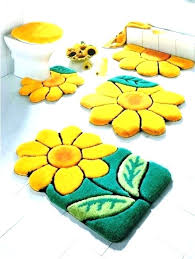 gray and yellow bathroom rugs bath gold rug sets fascinating fas bathroom towels and rugs