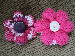 Knitted Flower Pattern Amazing No Watering No Wilting 48 Knit Flowers