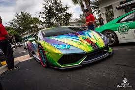 Crazy Paint Jobs This Crazy Lamborghini Has The Most Amazing Paint Job Youve Ever Seen