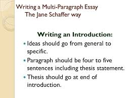 writing a multi paragraph essay the jane schaffer way ppt video  writing a multi paragraph essay the jane schaffer way