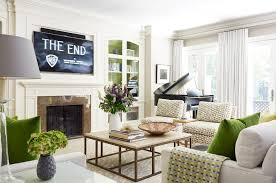 traditional living room with tv. Glamorous Sherwin Williams Tony Taupe In Living Room Traditional With French Country Kitchen Ideas Next To Wall Mount Tv Alongside Modern Condo Design Y